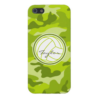 Volleyball green camo camouflage iPhone 5 cover