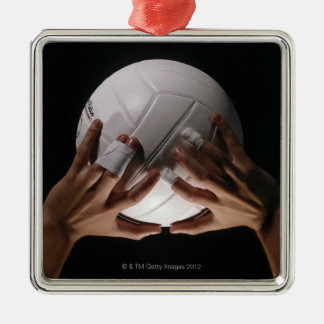 Volleyball Hands Christmas Ornament