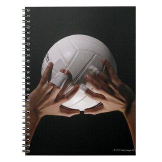 Volleyball Hands Spiral Notebook