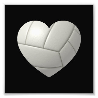 Volleyball Heart Photograph