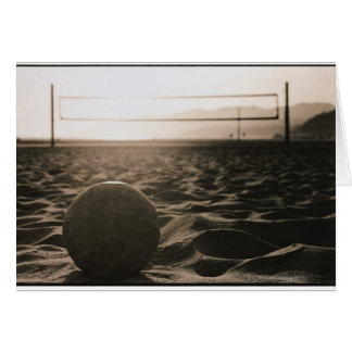 Volleyball in the Sand Card