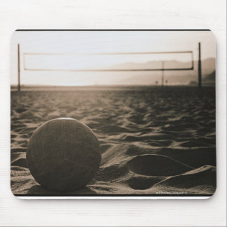 Volleyball in the Sand Mouse Mat