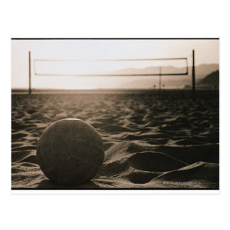 Volleyball in the Sand Postcard