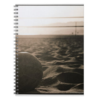 Volleyball in the Sand Spiral Notebook