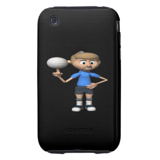 Volleyball Intimidation Tough iPhone 3 Covers