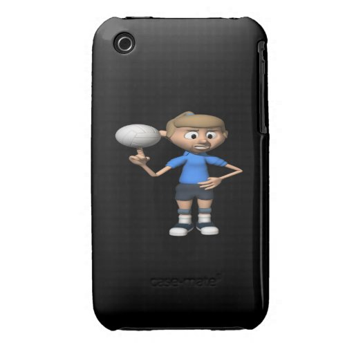 Volleyball Intimidation iPhone 3 Cases