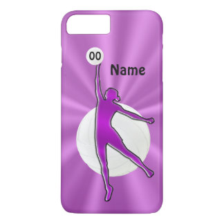 Volleyball iPhone 7 Case with NAME and NUMBER