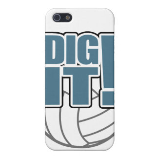 Volleyball iPhone Case: Dig it! iPhone 5/5S Case