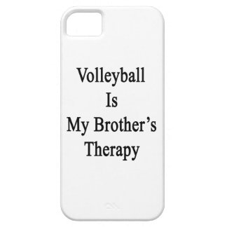Volleyball Is My Brother's Therapy iPhone 5 Cases
