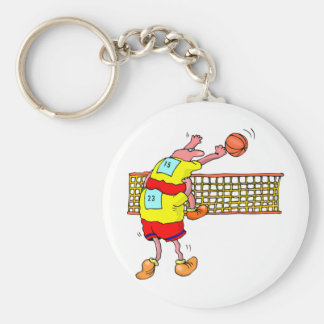 Volleyball Key Chains