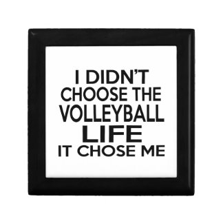 VOLLEYBALL LIFE DESIGNS SMALL SQUARE GIFT BOX