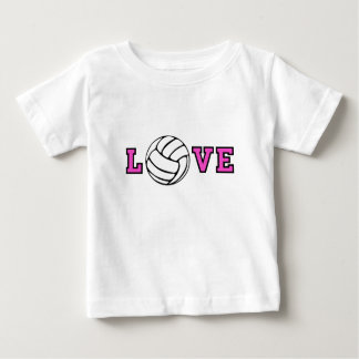 Volleyball Love Baby T-Shirt