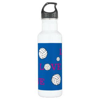 Volleyball Love Customizable 710 Ml Water Bottle