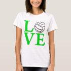 Volleyball LOVE, green2 T-Shirt