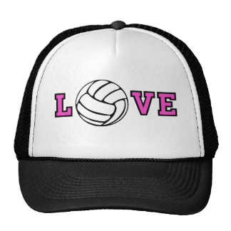 Volleyball Love Hats