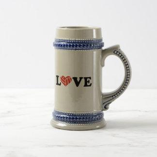 Volleyball love mug