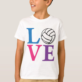 Volleyball LOVE, multi2 T-Shirt