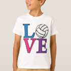 Volleyball LOVE, multi T-Shirt