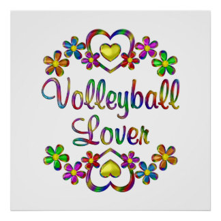 Volleyball Lover Poster