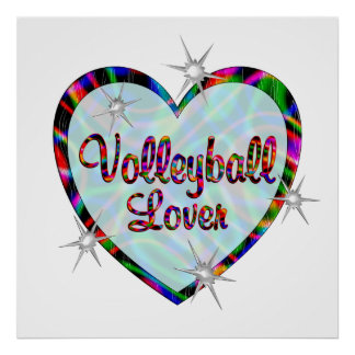 Volleyball Lover Posters