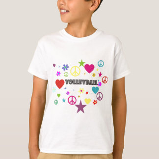 Volleyball Mixed Graphics T-Shirt