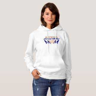 Volleyball Mom heart Hoodie