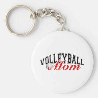 Volleyball Mom Key Ring