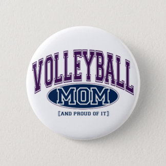 Volleyball Mom Pin