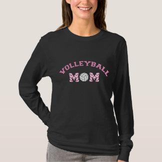 Volleyball mom shirt: black long sleeve T-Shirt
