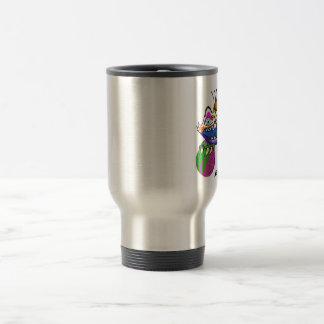 Volleyball Monster-Siesta Key Travel Mug