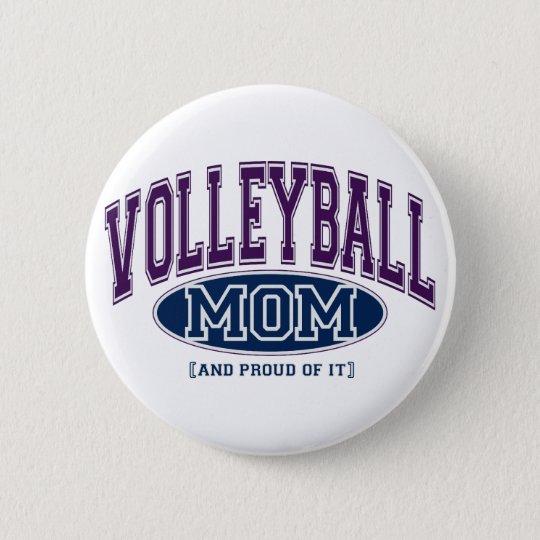 Volleyball Mum Pin