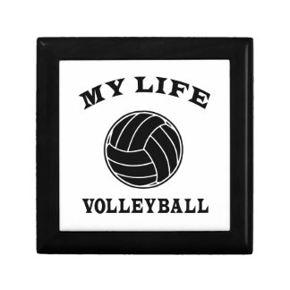 Volleyball My Life Small Square Gift Box