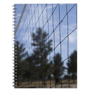 Volleyball net notebook