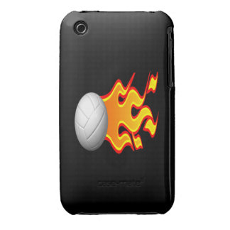 Volleyball On Fire iPhone 3 Cover