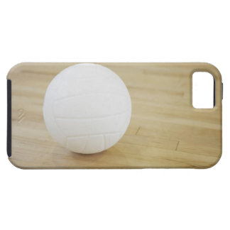 Volleyball on wooden floor iPhone 5 covers