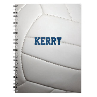Volleyball Personalized Notebook