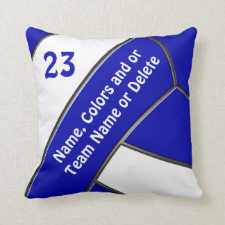 Volleyball Pillow with Your Text and Colors