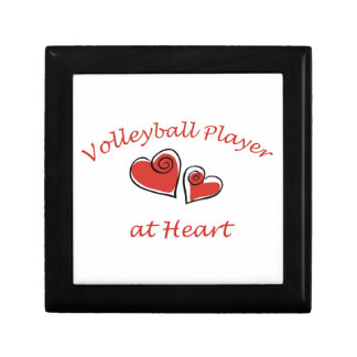 Volleyball Player at Heart Gift Boxes