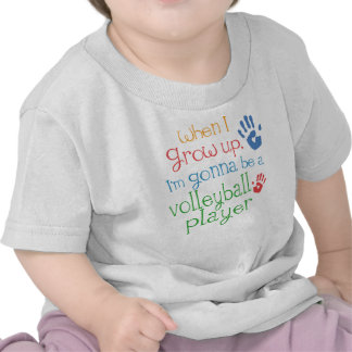 Volleyball Player Future Infant Baby T-Shirt