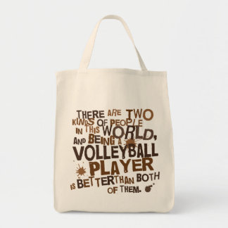 Volleyball Player Gift Tote Bag