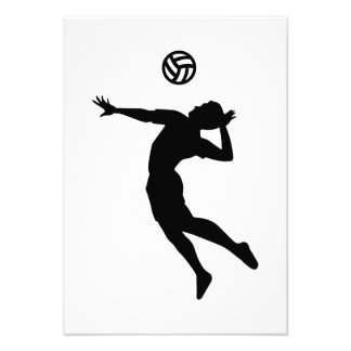 Volleyball player invitations