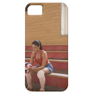 Volleyball player with volleyball iPhone 5 cases