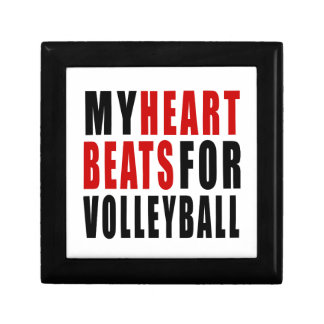 VOLLEYBALL.png Small Square Gift Box