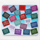 Volleyball Quotes Mousepad in Colours