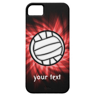 Volleyball; Red iPhone 5 Covers