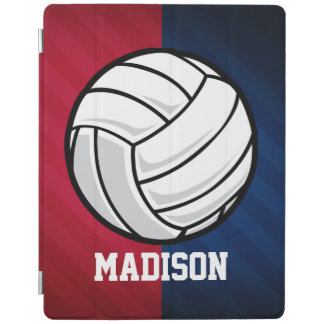 Volleyball; Red, White, and Blue iPad Cover