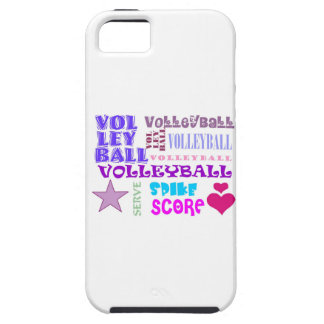 Volleyball Repeating iPhone 5 Covers
