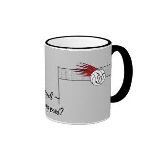 Volleyball Ringer Mug