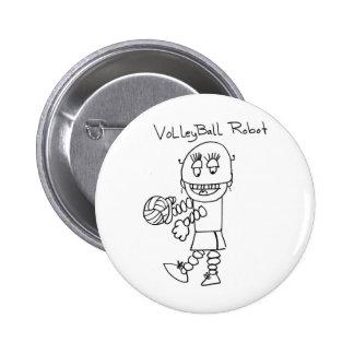 Volleyball Robot Button