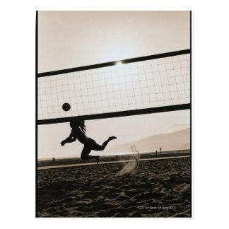 Volleyball Serve Postcard
